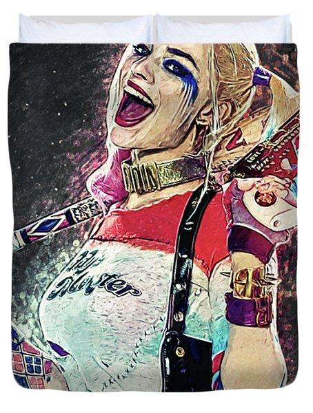 Harley Quinn Duvet Cover
