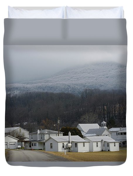 Harman Duvet Cover by Randy Bodkins