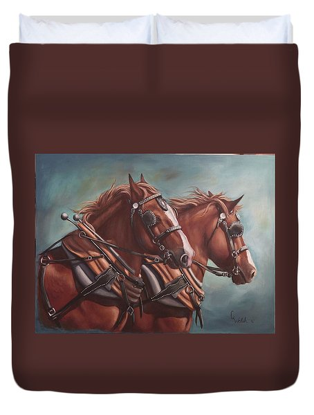 Harness Power Duvet Cover