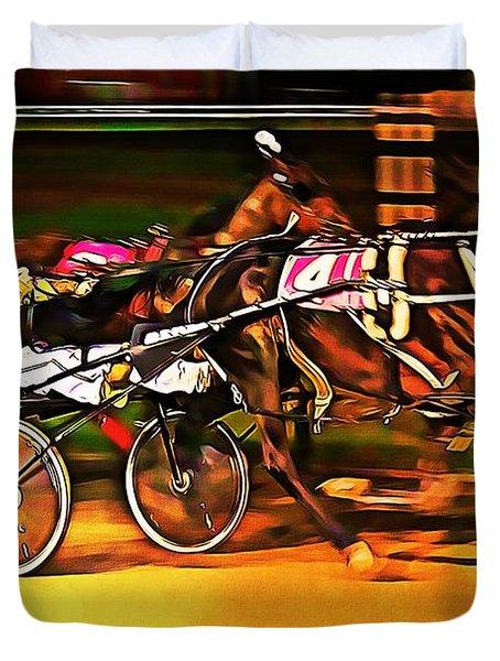 Harness Race #2 Duvet Cover