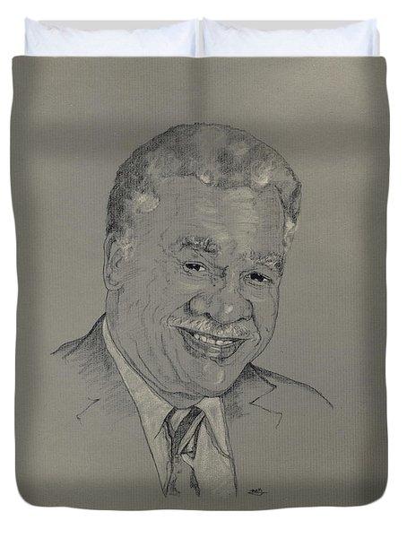 Harold Washington  Duvet Cover