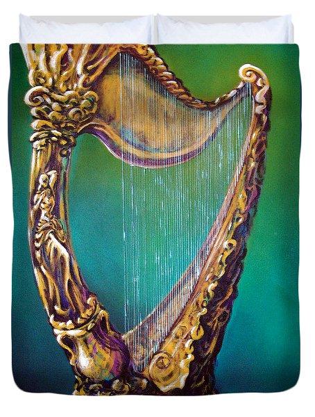 Harp Duvet Cover by Kevin Middleton