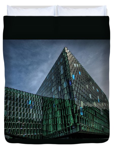 Harpa Duvet Cover by Wade Courtney