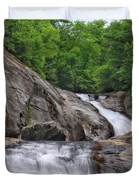 Harper Creek Falls Duvet Cover