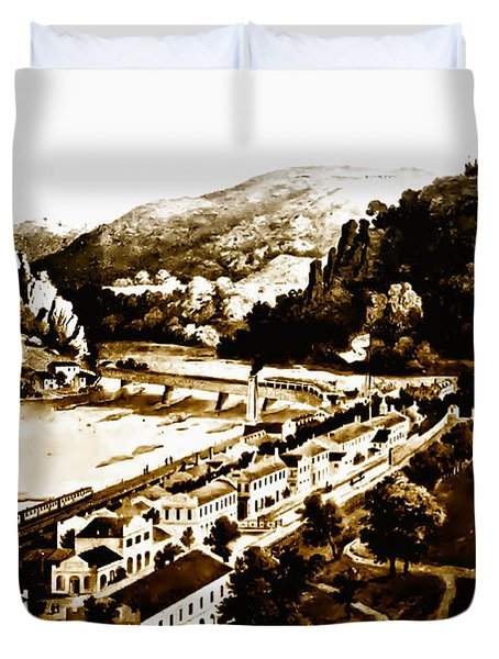 Harpers Ferry Duvet Cover by Bill Cannon
