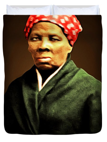 Harriet Tubman Underground Railroad 20160420 Duvet Cover