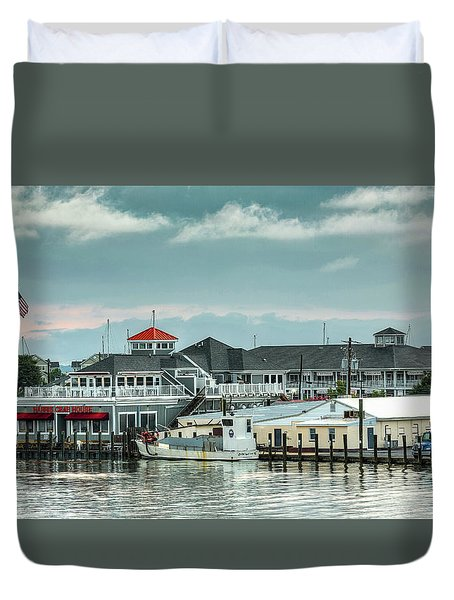Harris Crab House Duvet Cover