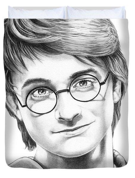Harry Potter Duvet Cover by Murphy Elliott