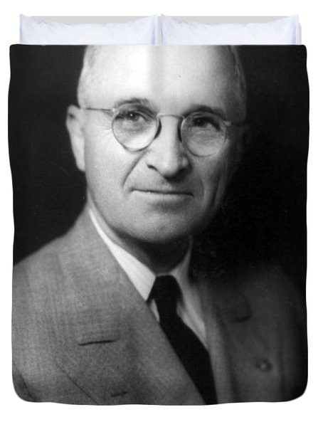 Harry S Truman - President Of The United States Of America Duvet Cover