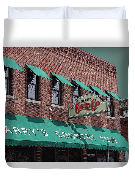 Harry's Country Club Duvet Cover