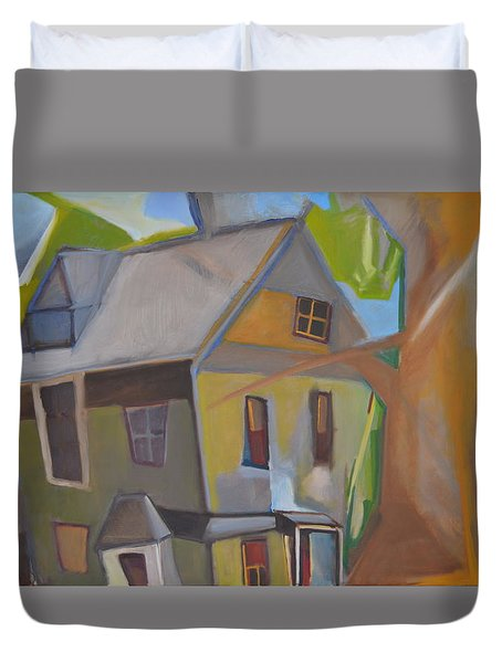 Harry's Tree Duvet Cover by Ron Erickson