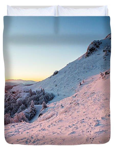 Harsh Sunshine Duvet Cover by Evgeni Dinev