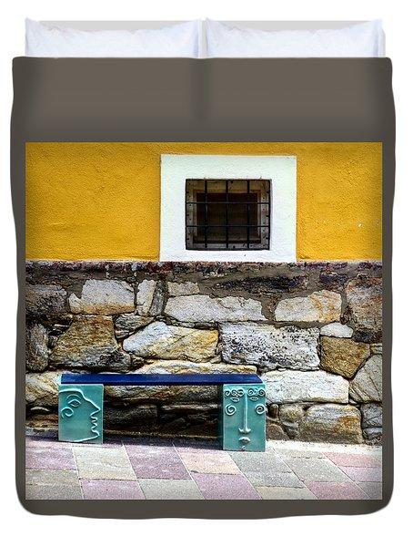 Hartberg Bench Duvet Cover