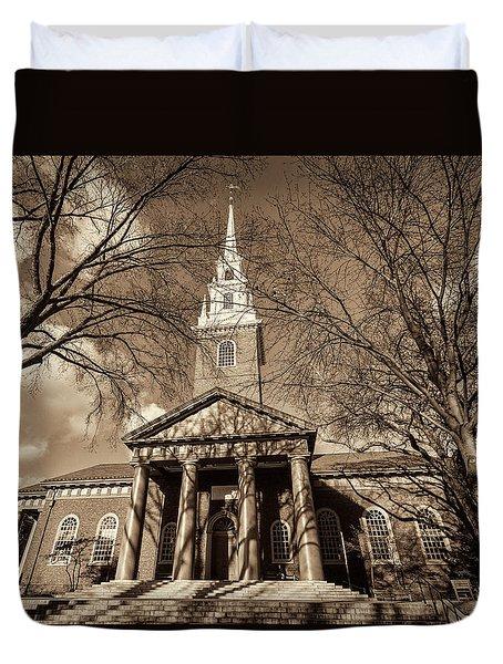 Harvard Memorial Church Duvet Cover