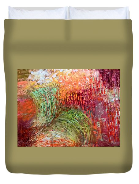 Harvest Abstract Duvet Cover