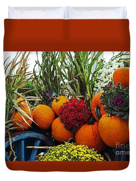 Harvest Bounty Duvet Cover