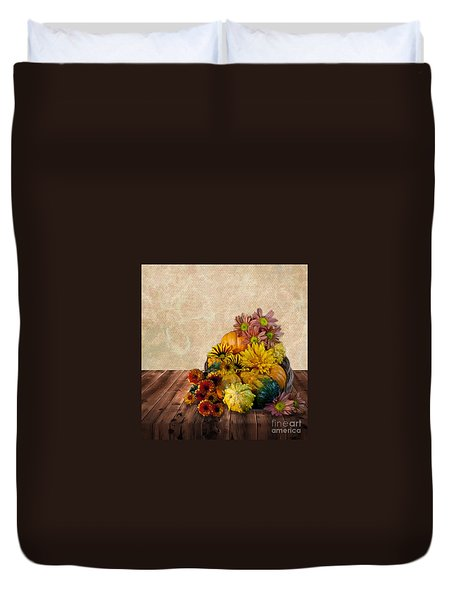 Harvest Bounty Duvet Cover