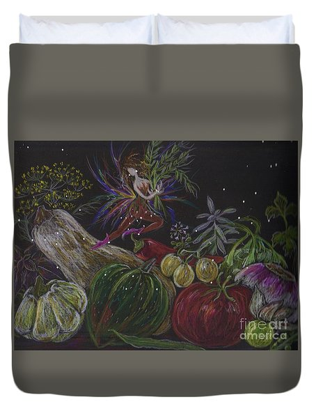 Harvest Duvet Cover by Dawn Fairies