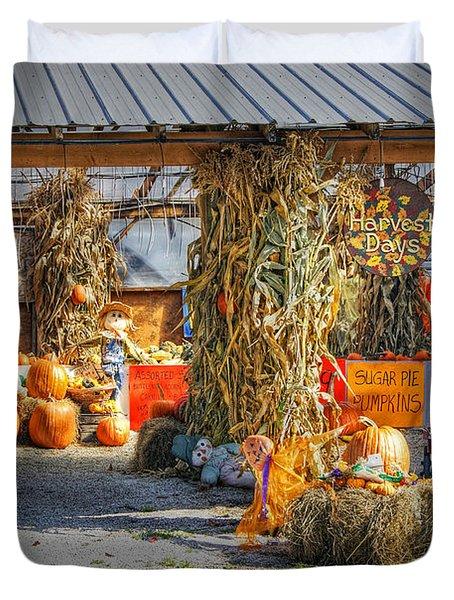 Harvest Days Duvet Cover