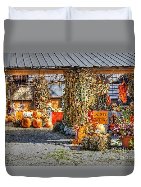 Harvest Days Duvet Cover