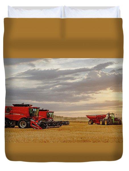 Harvest Delayed Duvet Cover