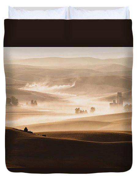 Harvest Dust Duvet Cover
