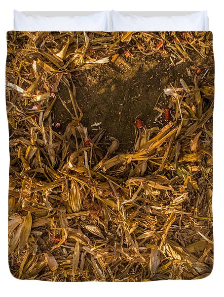 Harvest Leftovers Duvet Cover