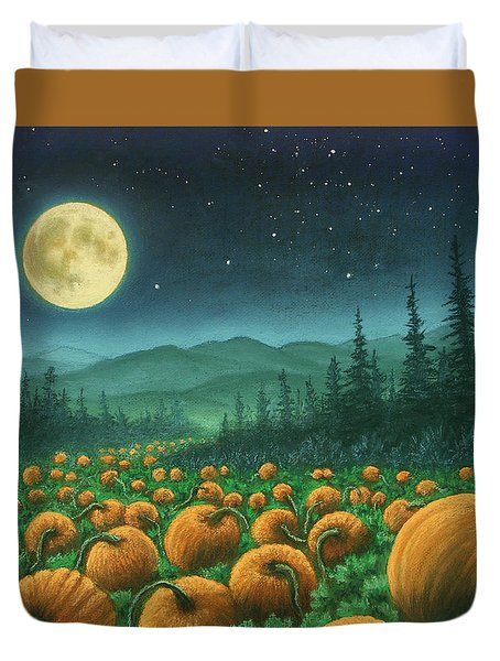 Harvest Moon 01 Duvet Cover