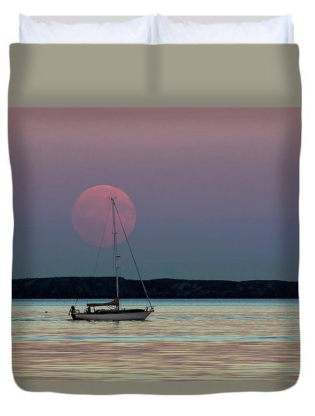 Harvest Moon - 365-193 Duvet Cover