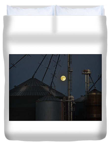 Harvest Moon Duvet Cover