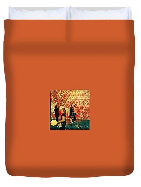 Harvest Moon Festival Duvet Cover