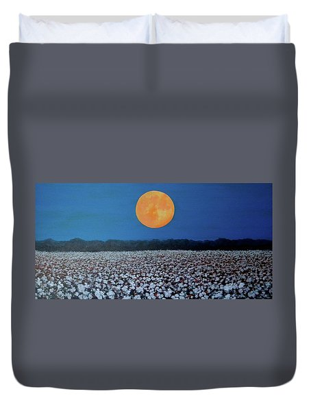 Harvest Moon Duvet Cover by Jeanette Jarmon