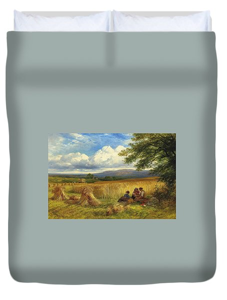 Harvest Rest Duvet Cover