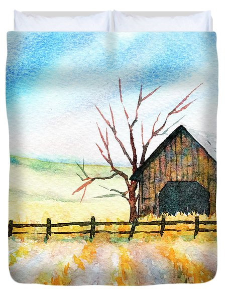 Harvest Season Duvet Cover