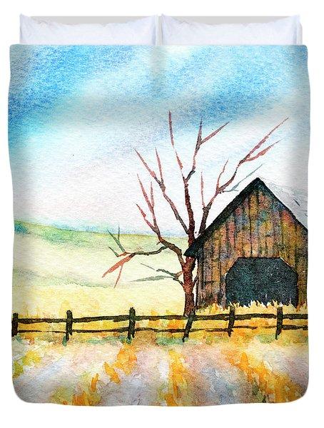 Harvest Season Duvet Cover