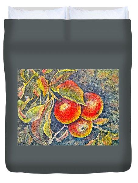 Harvest Time Duvet Cover by Carolyn Rosenberger
