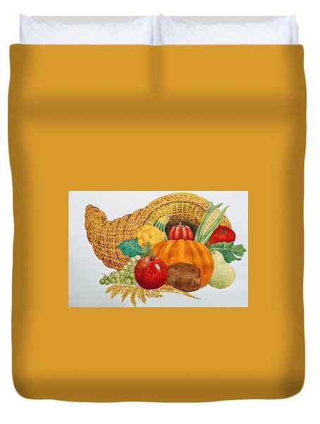 Harvest Time Duvet Cover