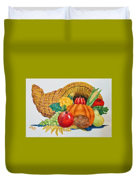 Harvest Time2  Duvet Cover