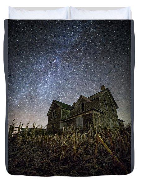 Harvested  Duvet Cover by Aaron J Groen