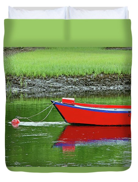 Harwich Rowboat Duvet Cover