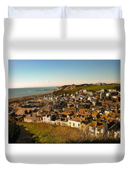 Hastings, Sussex, England Duvet Cover