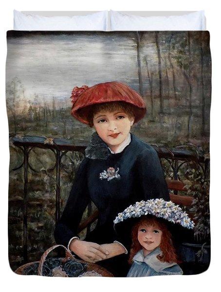 Hat Sense Duvet Cover by Judy Kirouac