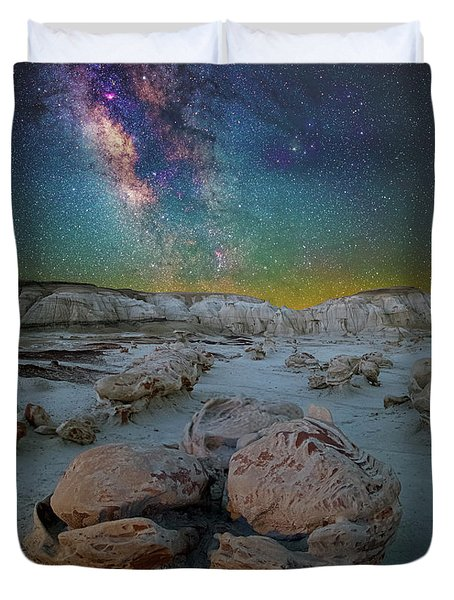 Hatched By The Stars Duvet Cover