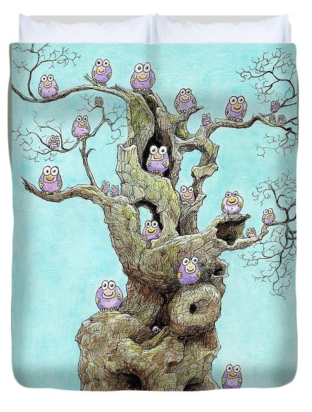 Hatchlings Duvet Cover