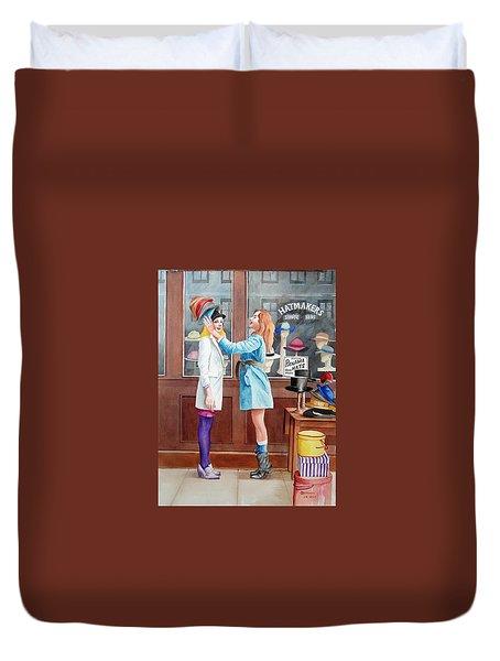 Hatmakers Duvet Cover by Charles Hetenyi
