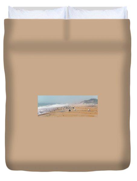 Hatteras Island Beach Duvet Cover