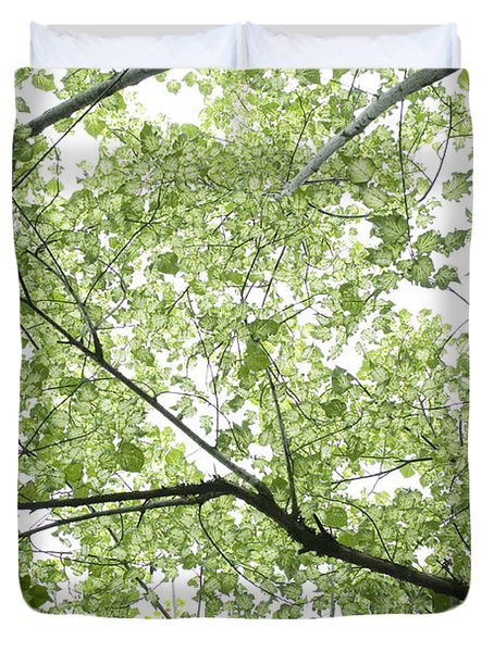 Hau Tree Canopy Duvet Cover