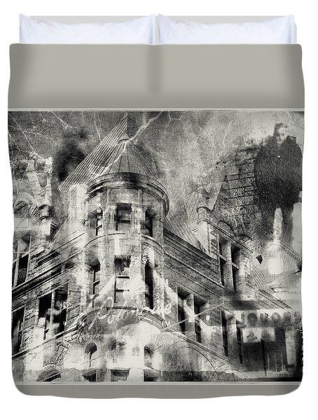 Haunted By The Past Duvet Cover