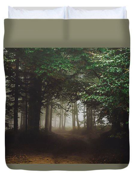 Haunted Forest #2 Duvet Cover