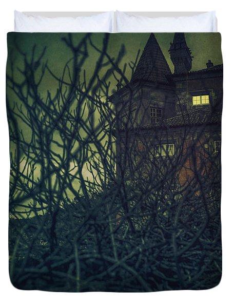 Haunted Mansion Duvet Cover